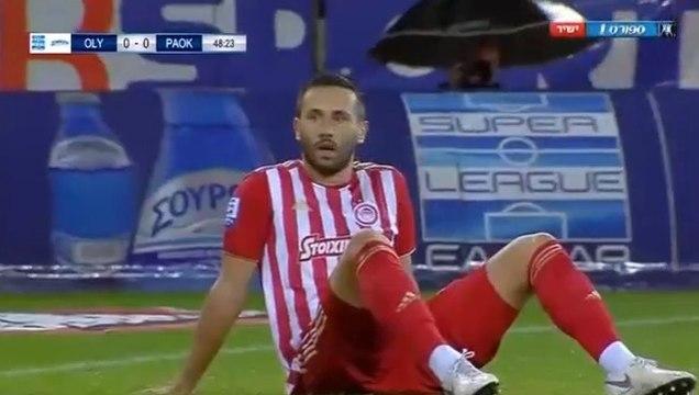 0-1 Jagos Vukovic UNBELIEVABLE Own Goal - Olympiakos 0-1 PAOK  - 30.09.2018 [HD]