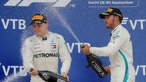 Formule 1 : Hamilton remporte le Grand Prix de Russie