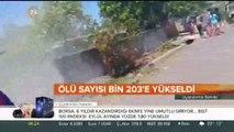 Endonezya'da tsunami ve deprem