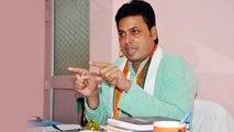 PM Modi की Tripura CM Biplab Deb ने की तारीफ,कहा'दुनिया में कोई नहीं PM Modi जैसा' | वनइंडिया हिंदी