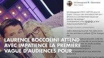PHOTO. Laurence Boccolini radieuse au côté de Christophe Beaugrand sur le tournage de Big Bounce Battle