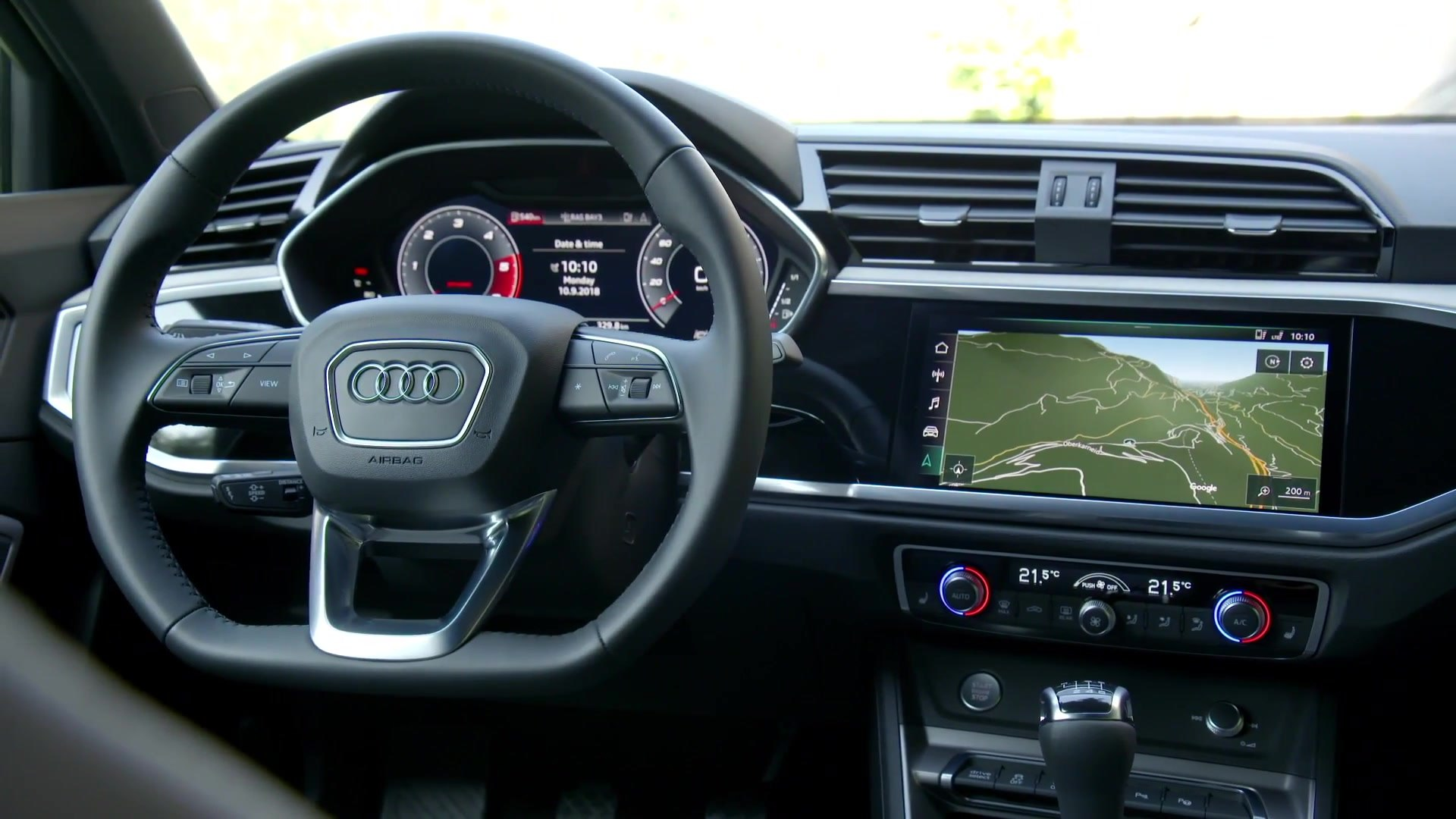 2018 Audi Q3 In Interior Design Chronos Grey Video Dailymotion
