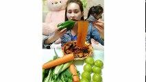 EATING SHOW COMPILATION-CHINESE FOOD-MUKBANG-challenge-Beauty eat strange food-asian food-NO.165