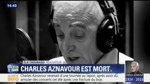 """""""Il a réinventé la langue française"""", témoigne Elie Chouraqui, comparant Charles Aznavour à Baudelaire ou Rimbaud"""