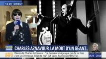 """""""Quand on dit Aznavour, c'est la France"""", témoigne Mireille Mathieu après le décès de Charles Aznavour"""