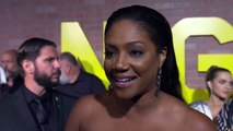 Night School – Premiere Tiffany Haddish Interview - Director Malcolm D. Lee – Will Packer Prods. – HartBeat Prods. – Universal Pictures - Producers Will Pack