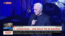 Décès de Charles Aznavour: La réaction de Dany Brillant - VIDEO
