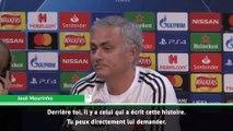 La pirouette de José Mourinho sur Zinédine Zidane