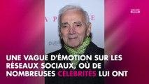 """Charles Aznavour mort : Alain Delon se dit """"fracassé"""" par l'annonce de son décès"""