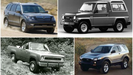 Gone without a Trace: These are the Forgotten SUV's