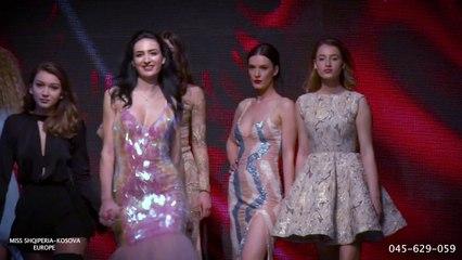 Dashnor Asllani Miss kosova Albania Europe Moda City