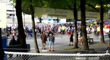 Fête de la bière - Des milliers de gens courent pour le lancement du festival de la bière