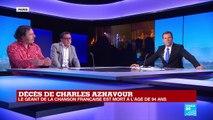 Édition spéciale : Charles Aznavour, monstre sacré de la chanson française