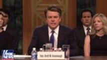'SNL' Rewind: Adam Driver Hosts, Matt Damon Guest Stars, Kanye West Rants | THR News