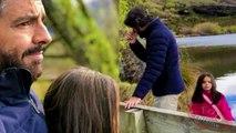Eugenio Derbez, Alessandra Rosaldo y su hija Aitana disfrutan los paisajes de Nueva Zelanda