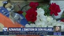 À Mouriès, où habitait Charles Aznavour, les habitants du village lui rendent hommage