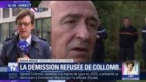 """Démission refusée de Collomb: """"S'il affiche des ambitions pour sa ville (...) c'est une vertu car c'est de l'ambition pour la France"""", réagit Sacha Houlié (LaRem)"""