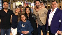 Ranbir Kapoor, Rishi Kapoor & Neetu Kapoor were missing from Krishna Raj's last moment | FilmiBeat
