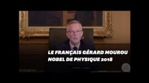 Le Français Gérard Mourou prix Nobel de physique 2018, avec un Américain et une Canadienne