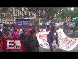 Sección 22 de Oaxaca marcha en protesta por  asesinato de normalistas / Nacional