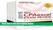 [P.D.F] Wiley CPAexcel Exam Review 2015 Study Guide January (Wiley Cpa Exam Review) by O. Ray