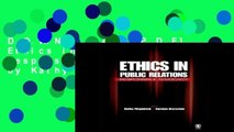 D.O.W.N.L.O.A.D [P.D.F] Ethics in Public Relations: Responsible Advocacy by Kathy Fitzpatrick