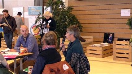 Forum ESS Bayonne 2017  Intervention de Marie Luce Garat, Épargnante dans un CLEFE