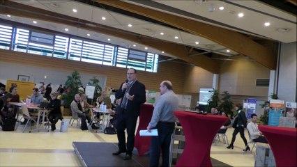 Forum ESS Bayonne 2017 Intervention Christian MILLET-BARBE, Président du GIP DSU de l'Agglomération Bayonnaise