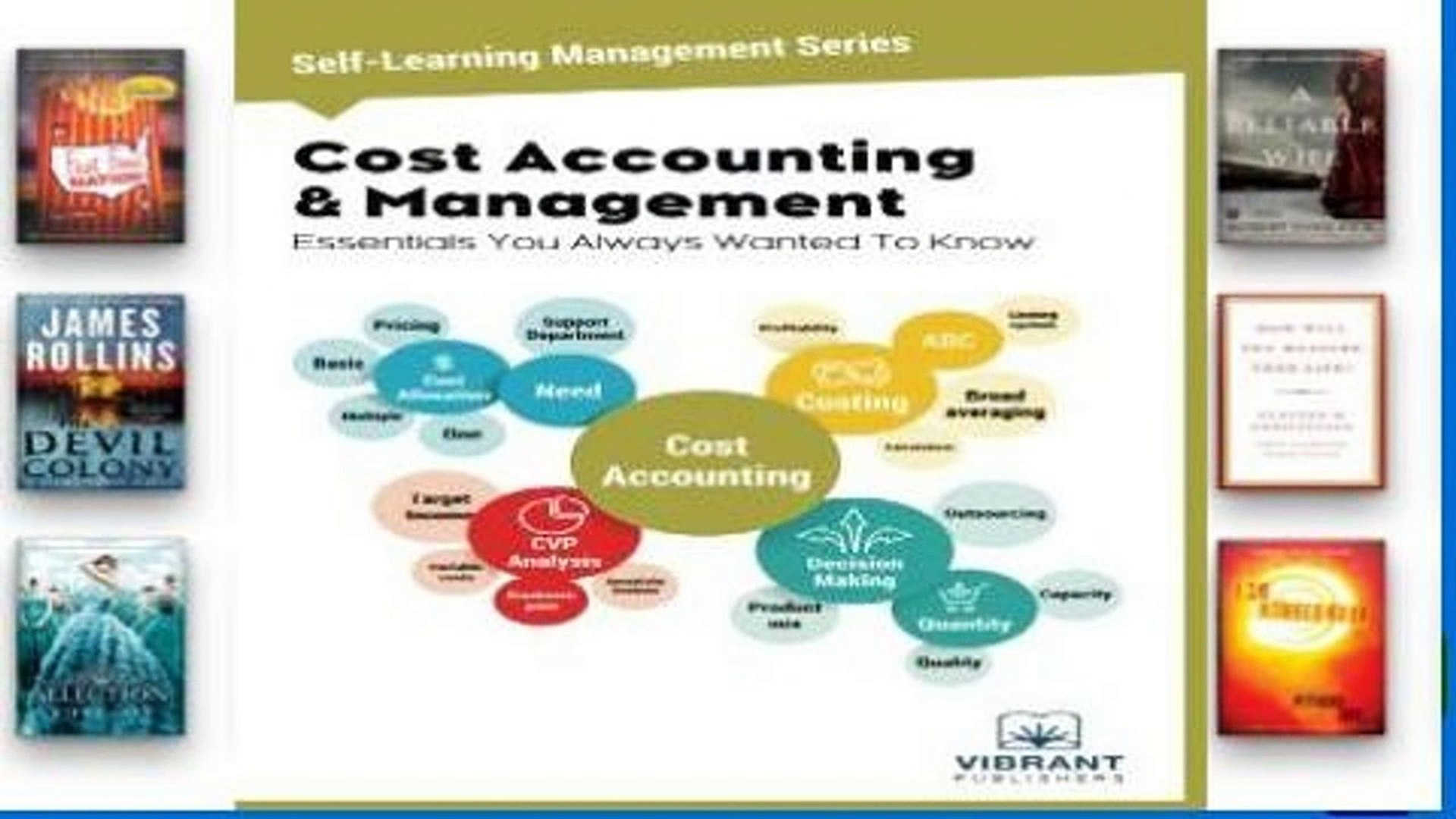 Cost Accounting /& Management Essentials You Always Wanted To Know