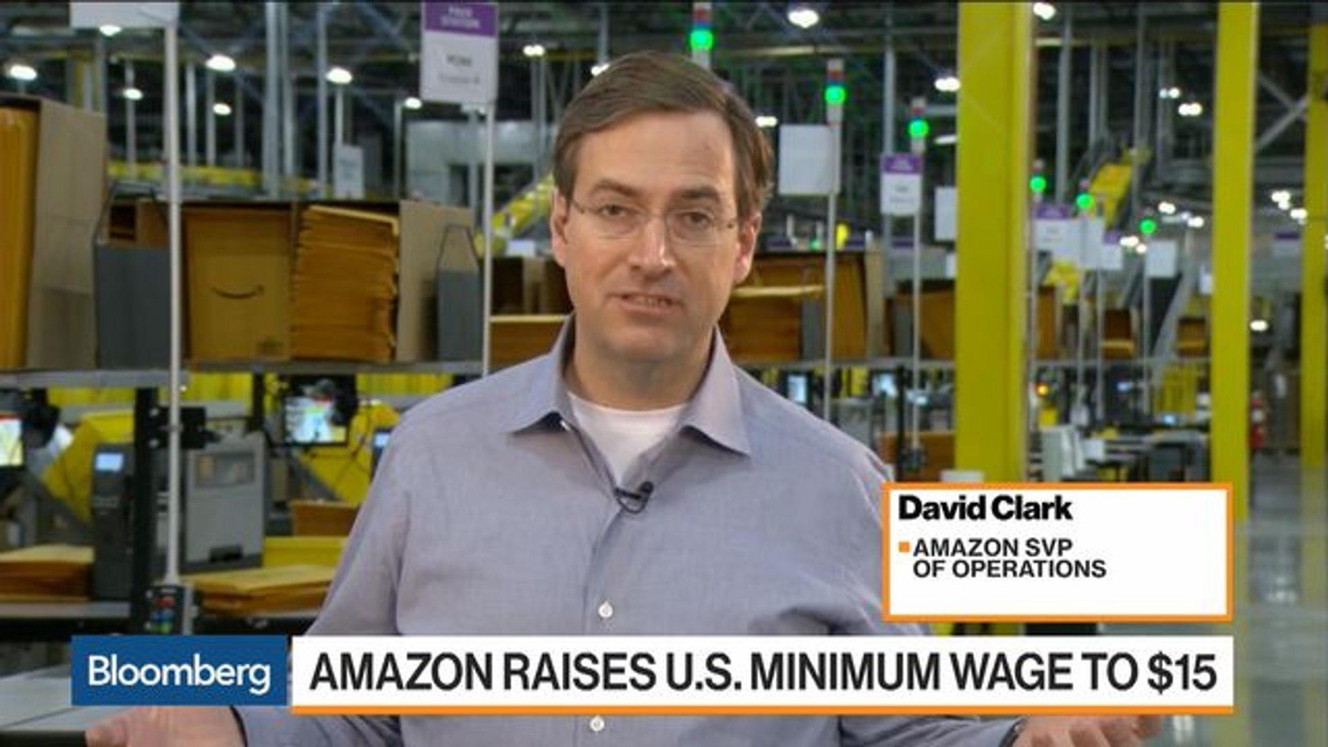 Amazon SVP Says Raising Minimum Wage Is About the Future