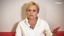 Muriel Robin au nom des femmes battues : « Monsieur le président, je ne vous lâcherai pas »