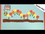 Splatter- Pillar Arty Challenge | Arty Party | Mister Maker