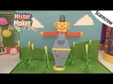 Scarecrow Arty Challenge | Arty Party | Mister Maker