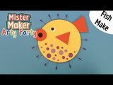 How to Make a Paper Puffer Fish!   Arty Party   Mister Maker