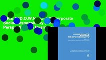 F.R.E.E [D.O.W.N.L.O.A.D] Corporate Social Responsibility (Critical Perspectives on Business and