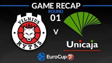 7Days EuroCup Highlights Regular Season, Round 1: Rytas 80-72 Unicaja