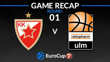 7Days EuroCup Highlights Regular Season, Round 1: Zvezda 88-73 Ulm