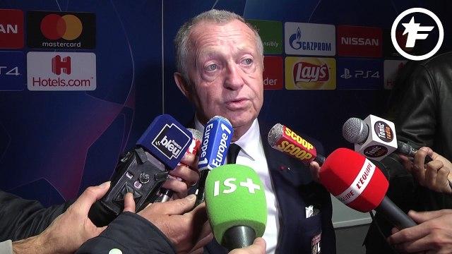 "Jean-Michel Aulas : ""J'ai mal vécu ce match à huis clos"""