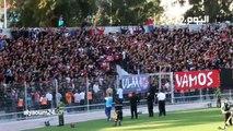 """إلتراس المغرب التطواني تحتج على مقتل """"حياة""""..شعارات قوية في الملعب والشارع"""