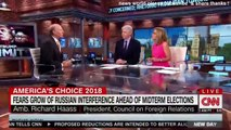 BREAKING NEWS FRARS GROW OF RUSSIAN INTERFERENCE AHEAD OF MIDTERM ELECTIONS. CNN