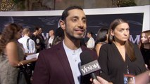 Riz Ahmed Says 'Venom' Learned From Tom Hardy