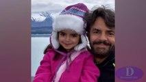 Alessandra Rosaldo, Eugenio Derbez y su hija Aitana se van de viaje a Nueva Zelanda