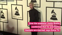 Justin Bieber Confirms He's Married Now To Hailey Baldwin