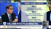 """ÉDITO – """"L'autorité d'Emmanuel Macron a été défiée"""" après la démission de Gérard Collomb"""