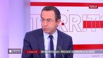 « Emmanuel Macron n'est plus le maitre des horloges » déclare Bruno Retailleau