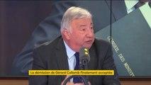 """""""Je constate que Gérard Collomb a préféré Lyon à Macron, et j'avoue que je ne comprends pas cette hiérarchie"""" déclare Gérard Larcher, président LR du Sénat"""
