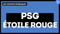 PSG-Étoile Rouge de Belgrade : les compositions probables