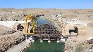200 Yıl Önce Havaya Uçurulan 1800 Yıllık Köprünün İki Yakası Birleşiyor.
