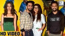 AndhaDhun Special Screening | Ayushmann Khurranna, Vicky Kaushal, Radhika Apte