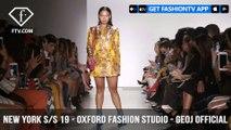 New York Fashion Week Spring/Summer 2019 - Oxford Fashion Studio - Geoj Official | FashionTV | FTV